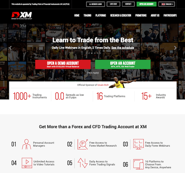 XM Forex Trading Broker Review